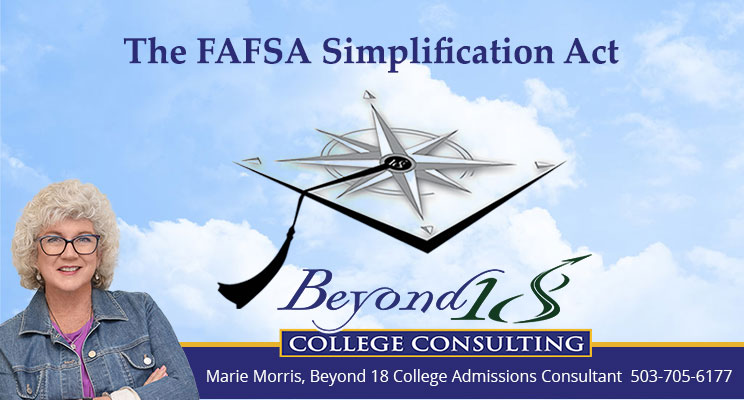 The FAFSA Simplification Act